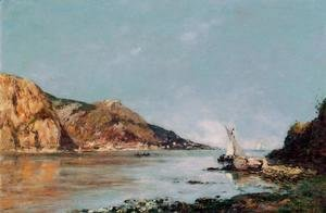 Eugène Boudin - The Bay of Fourmis, Beaulieu