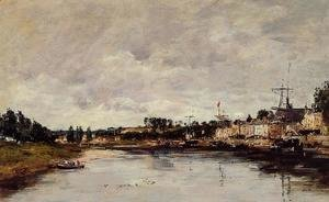 Eugène Boudin - The Somme at Saint-Valery-sur-Somme
