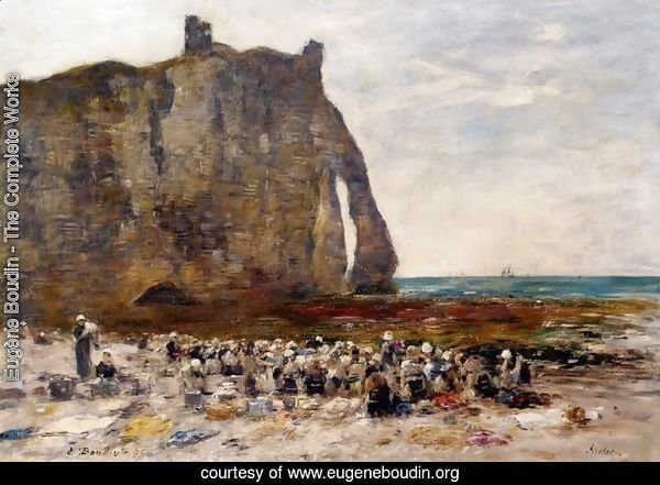 The Laundresses of Etretat