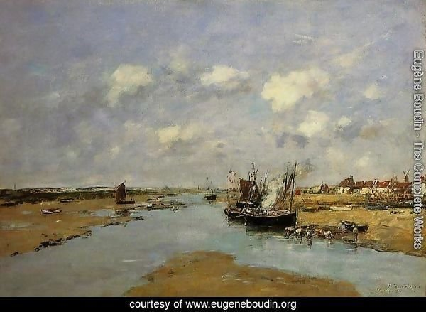 Etaples, La Canache, Low Tide