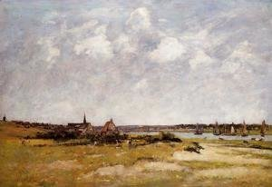 Etaples, La Canache. High Tide