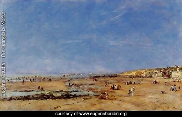 Trouville, Panorama of the Beach