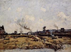 Eugène Boudin - Trouville, the Ferry to Deauville I