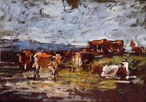 Cows in Pasture II