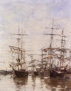 Eugène Boudin - The Port