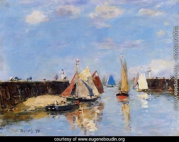 The Port of Trouville II