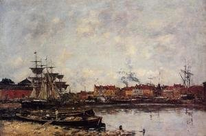 Eugène Boudin - Dunkirk, the Inner Port