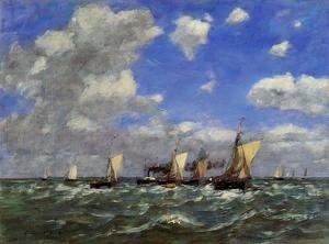 Eugène Boudin - Open Sea