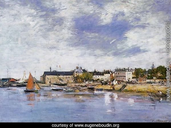 Trouville, the Port III