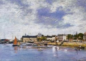 Eugène Boudin - Trouville, the Port III