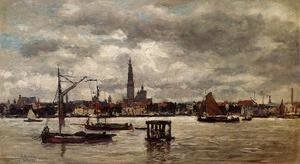 Eugène Boudin - Antwerp, the Port