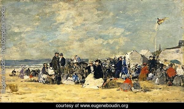 Beach Scene, Trouville II