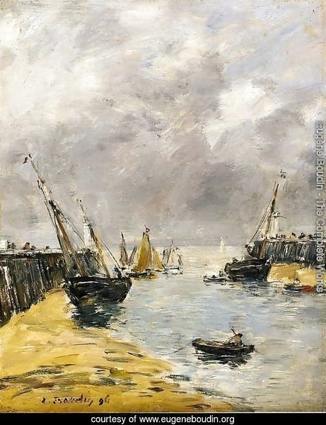 The Jetties, Low Tide, Trouville I