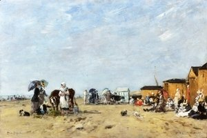 Berck, the Beach