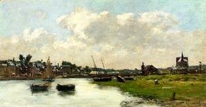 Eugène Boudin - The Port of Trouville, High Tide 2