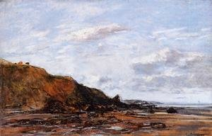 Eugène Boudin - The Shore, Near Honfleur