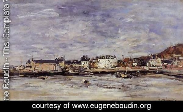 Eugène Boudin - Trouville, the Port 2