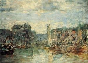 Rouen the Pont Corneille Fog Effect 1896