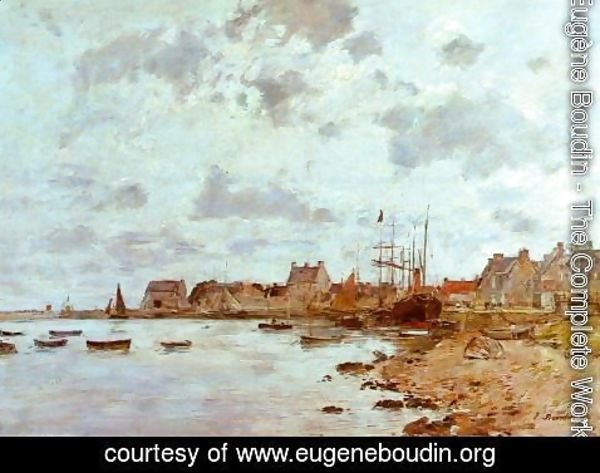 Eugène Boudin - The Port at Deauville 2