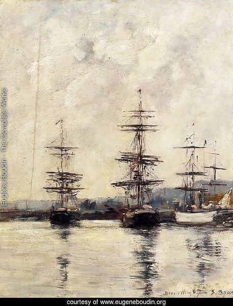 The Port at Saint-Vaast-la-Houghe 1892