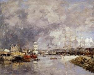 The Port of Deauville 1888-1895