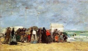 Trouville Beach Scene1 1873