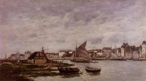 Eugène Boudin - Trouville the Port 1869