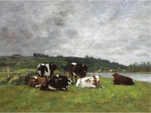Vaches Au Paturage 4