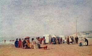 Beach at Trouville 4