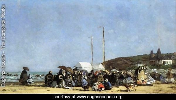 Beach Scene, Trouville 2