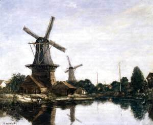 Dordrecht, the Windmills