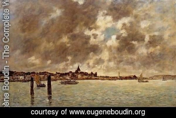 Eugène Boudin - The Seashore 2