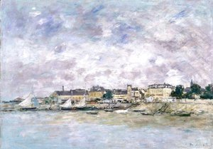 Eugène Boudin - The Port, Trouville