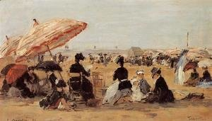 Eugène Boudin - The Beach 4