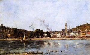 Eugène Boudin - The Rocks of l'Ilette and the Fortifications 2