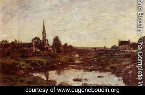 Eugène Boudin - The Saint-Simeon Farm 2