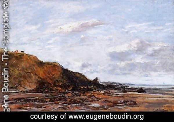 Eugène Boudin - The Sea at Douarnenez 2
