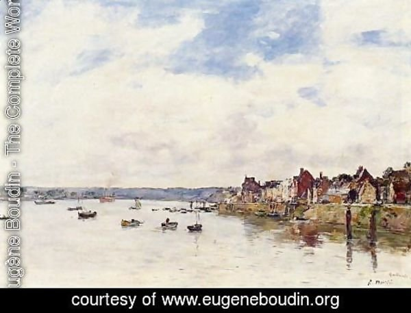 Eugène Boudin - The Rocks at Saint-Vaast-la-Hougue 2