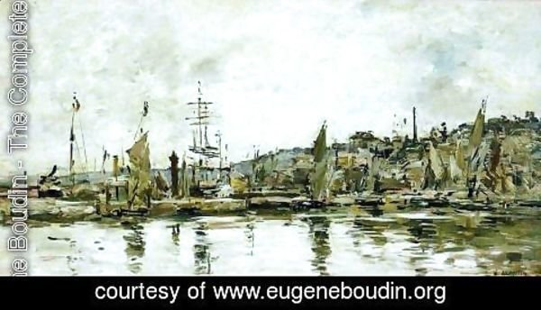 Eugène Boudin - The port of Bordeaux 2