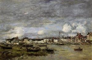Eugène Boudin - Trouville, the Port 3