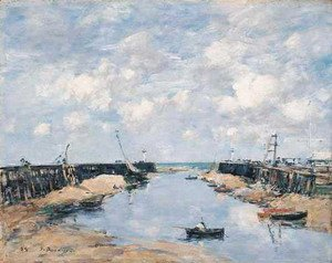 Eugène Boudin - The Entrance